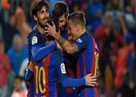 بالفيديو.. برشلونة يواصل انطلاقته ويستعرض بسباعية في مرمى أوساسونا