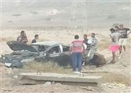 مصرع جامعية وإصابة أخرى إثر حادث انقلاب سيارة بنويبع