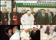 ماذا فعل البابا يوحنا بولس الثاني في زيارته لمصر عام 2000؟ -(تقرير)