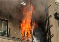 """مصرع شرطى بالمعاش وإصابة إثنين في حريق """"شقة"""" بكفر الشيخ"""
