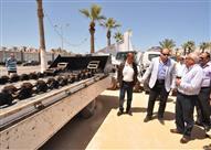 بالصور.. تدشين سيارات ومعدات بـ25 مليون جنيه لخدمة أهالي بورسعيد