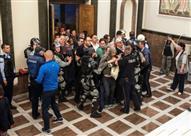100 جريح في أعمال عنف ببرلمان مقدونيا