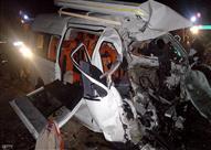بالأسماء.. مصرع 5 أشخاص وإصابة 15 آخرين في حادث سير بالبحيرة