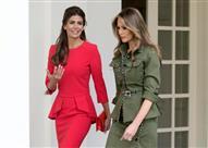 بالصور- من هي صاحبة الأصول العربية التي أثارت غيرة ميلانيا ترامب؟