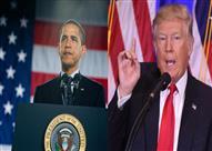 """12 صورة ترصد الاختلاف في أول 100 يوم في حُكم """"ترامب"""" و""""أوباما"""""""