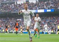 رقم إيجابي وآخر سلبي لرونالدو.. ضمن 10 في فوز مدريد على فالنسيا