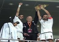 بالفيديو- تشافي يحصد أول بطولة في قطر تحت قيادة مدرب الزمالك السابق