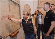 أسطورة مانشستر يونايتد ريان جيجز فى زيارة للمتحف المصري