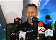المؤتمر الصحفي لزيارة ريان جيجز نجم مانشستر يونايتد السابق لمصر