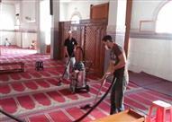 الأوقاف تطلق حملة نظافة لجميع المساجد بمناسبة رمضان...الخميس