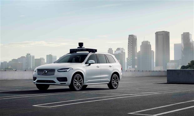 فيديو: سيارة أوبر وفولفو ذاتية القيادة أصبحت جاهزة