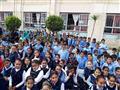 تلاميذ مدرسة بكفر الشيخ يتبرعون بمصروفهم اليومي لصندوق تعمير سيناء- صور