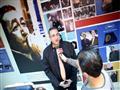 بالصور - محطات من حياة سمير فريد بمعرض فوتوغرافي في الأقصر