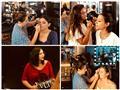 """بالصور- الفنانات في غرفة """"المكياج"""" استعدادًا لحفل افتتاح """"الجونة السينمائي"""""""
