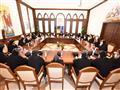 اجتماع البابا تواضروس مع اللجنة الدائمة بالمجمع ال