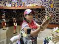 مريم عياد سيدة تصنع ألعاب للأطفال من صناديق الرنجة