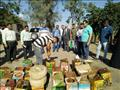 بالصور- إعدام 138 طن أغذية غير صالحة للاستهلاك الآدمي في الشرقية