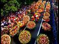كولومبيا تتزين بالألوان في مهرجان الزهور السنوي