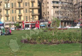 صور.. ميدان التحرير رمز الثورة الباحث عن التجميل