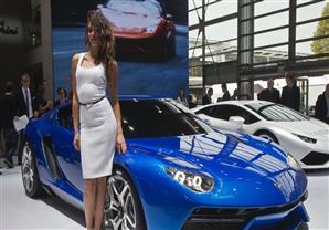 بالصور: اليوم الثاني لمعرض باريس للسيارات