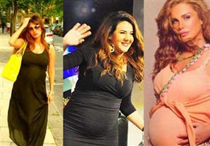 بالصور: رشاقة النجمات العرب بعد الولادة