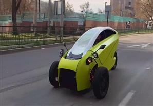 """""""سوكي"""" أول سيارة كهربائية تشيلية"""