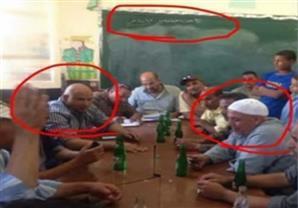 الحسيني يعرض صور لمرشح مجلس النواب بديرمواس داخل إحدى المدارس