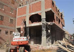الجيزة تحبط 4 محاولات لبناء أبراج سكنية مخالفة- (صور)