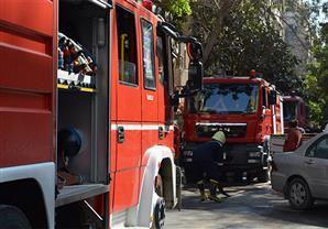 المطافئ تدفع بـ 10 سيارات للسيطرة على حريق اندلع منذ 3 أيام في الرحاب