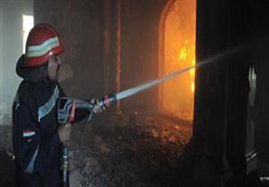 السيطرة على حريق محدود بشقة في حدائق القبة