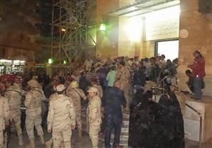 المنيا تودع المجند ضحية حادث فندق العريش
