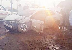"""بالفيديو.. """"أولوية المرور"""" تتسبب في حادث مروع بالسعودية"""