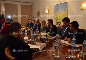 """بالصور ـ """"ABB"""" العالمية تبحث زيادة استثماراتها في قطاع الكهرباء بمصر"""