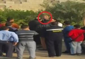 """بالفيديو- وكيل نيابة أكتوبر يآمر بحبس ضابط قام بتلفيق تهمة فى واقعة """"دريم لاند"""""""