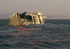 """الونش العائم """"إنقاذ 1"""" ينتشل 605 أطنان من حديد السفن الغارقة بميناء الإسكندرية"""
