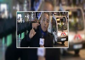 أول تعليق لـ أحمد موسى عقب واقعة الإعتداء عليه في باريس