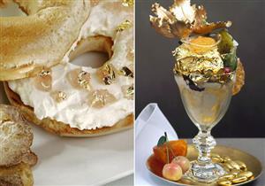 حلوي بالذهب والبلاتين..تعرف علي أغلي الحلويات في العالم