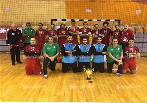 منتخب اليد يفوز على بيلاروسيا في ختام معسكر لاتفيا.. وعلي زين هداف البطولة