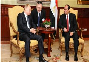 """الاندبندنت: بوتين والسيسي في لقاء """"تشابه العقول"""""""