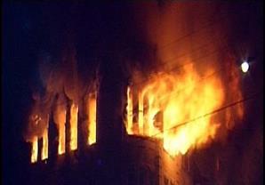 """تجدد اشتعال النيران بمنازل في """"قرية الجن"""" بكفر الشيخ"""