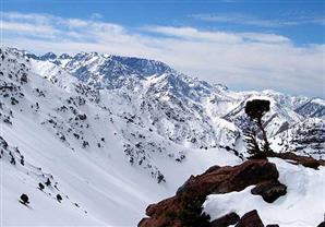 المغرب .. جنة عربية للتزحلق على الجليد