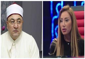 """ريهام سعيد"""" الشيخ خالد الجندى بيشغل نفسه بالبرامج أكتر من الدين"""""""
