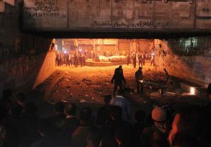 مدير أمن الشرقية ينقل تفاصيل الإنفجار الذي وقع بكوبري الممر بمدينة أبو حماد