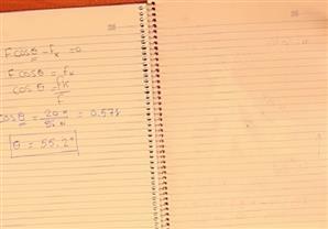 مخطط الجسم الحر وشنطة السفر3/3 - تدريبات عامة في الميكانيكا - ميكيانيكا ثانية ثانوي
