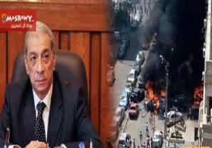 تضارب حول إصابة النائب العام في الانفجار الذي استهدف موكبه