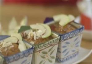 كيك التفاح بالكراميل - مطبخ منال العالم