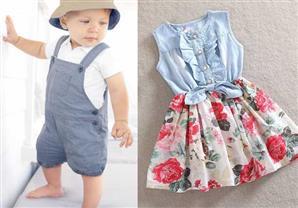للأمهات: أحدث صيحات الملابس لطفلك في عيد الفطر