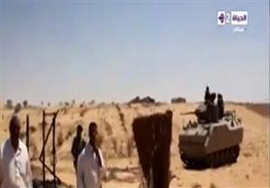 """الجيش يصفي 23عنصرا"""" في سيناء فجر اليوم وإعلان المخطط الإرهابي خلال ساعات"""