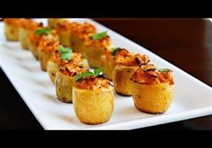 الشيف أيمن عفيفي - طريقة عمل البطاطس المحشية