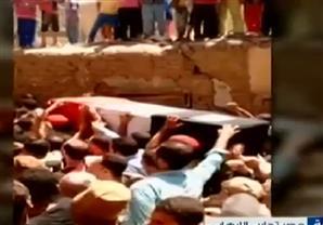 جنازات شعبية وعسكرية مهيبة لشهداء الواجب في سيناء